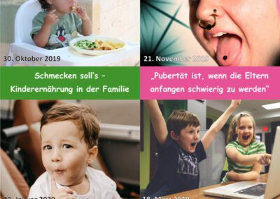 Familie in Aktion